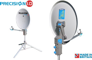 Maxview PRECISION I.D  55cm / 65cm / 75cm Satellite System with Single or Twin LNB